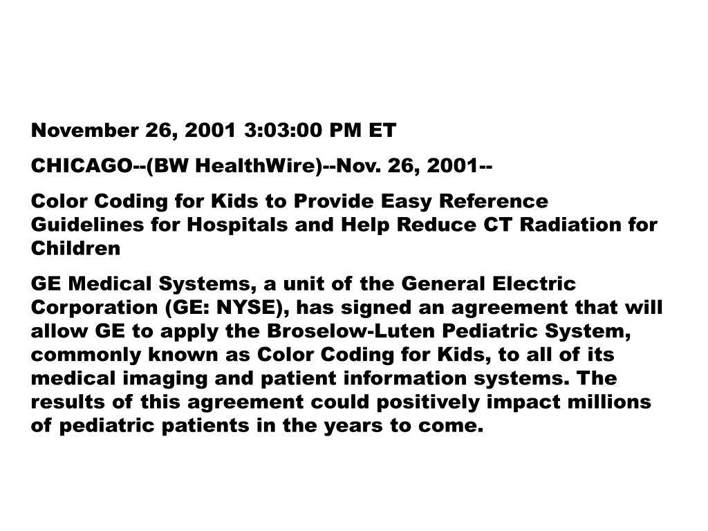 November 26, 2001 3:03:00 PM ET