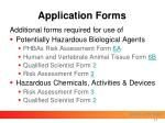 application forms17