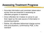 assessing treatment progress