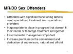 mr dd sex offenders