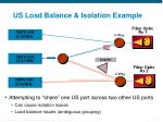 us load balance isolation example