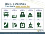 b2005 9 boekdelen downloads www vmsw be