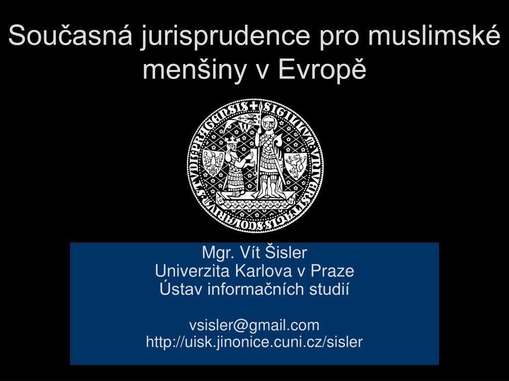 sou asn jurisprudence pro muslimsk men iny v evrop l.