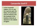 canaanite god el