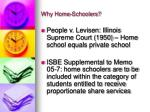 why home schoolers
