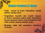 budaya membaca al quran