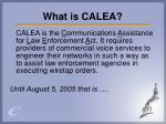 what is calea