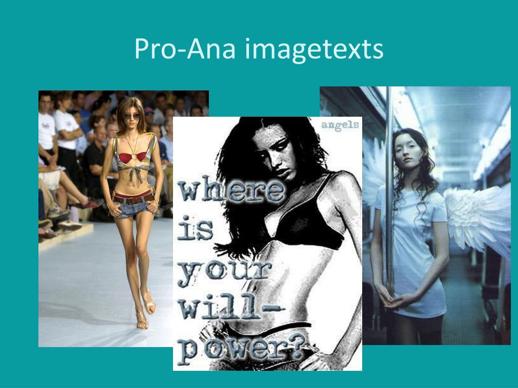 Pro-Ana imagetexts