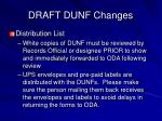 draft dunf changes22
