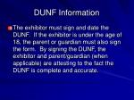 dunf information18