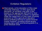 exhibition regulations3