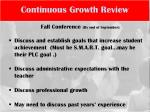 continuous growth review1