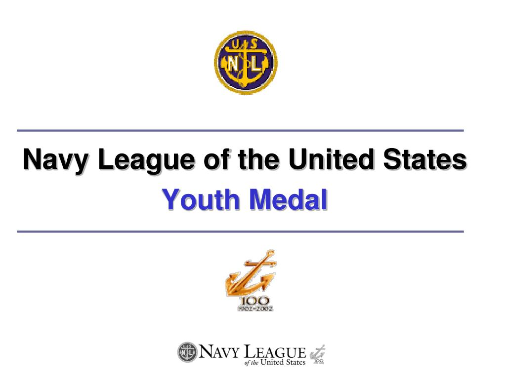 navy league of the united states youth medal l.