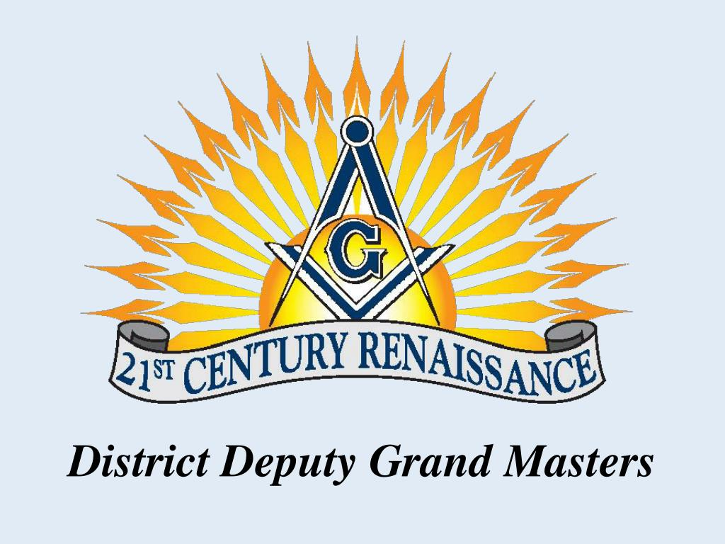 district deputy grand masters l.