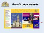 grand lodge website