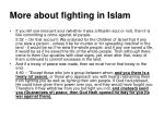 more about fighting in islam13