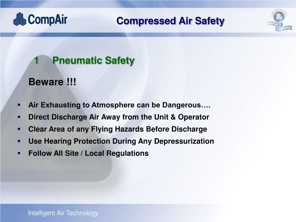 1Pneumatic Safety