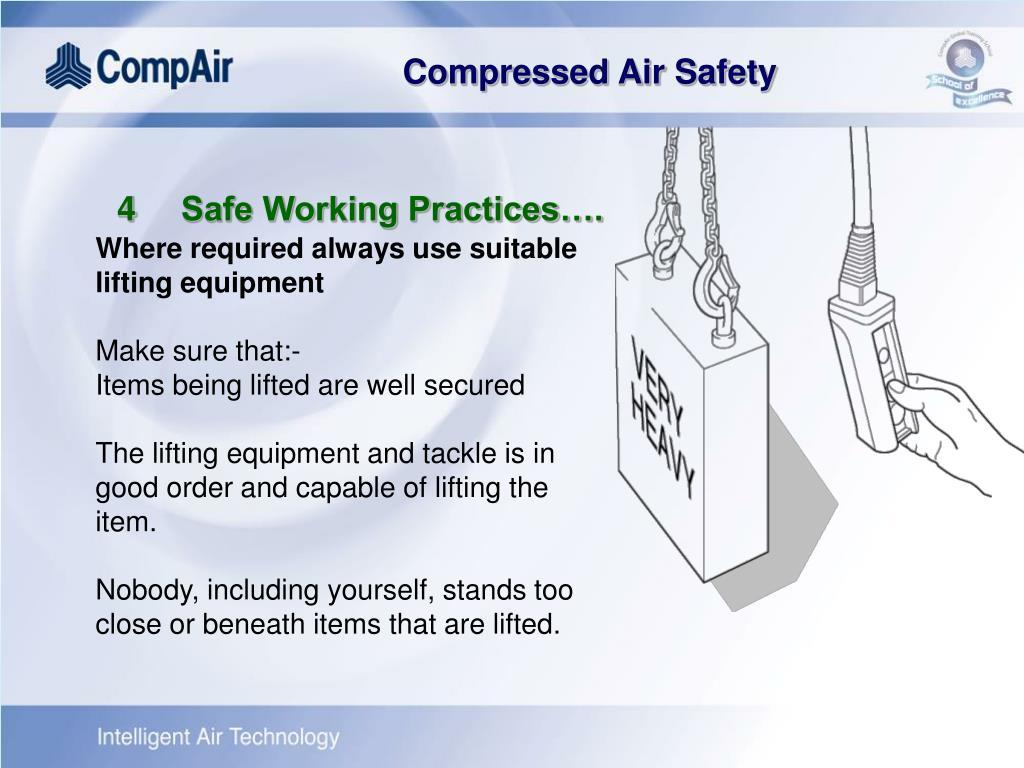 4Safe Working Practices….