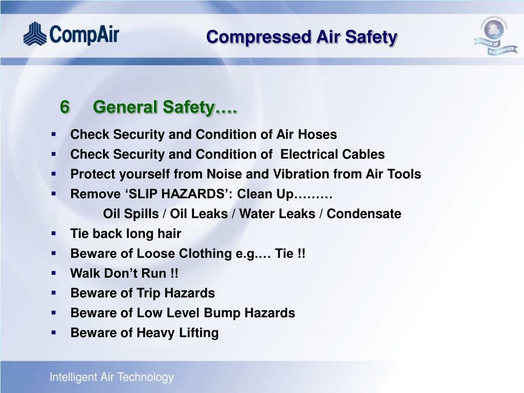 6General Safety….