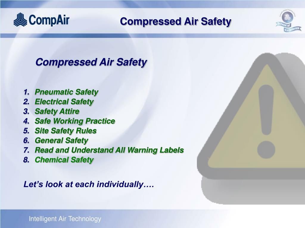 Compressed Air Safety