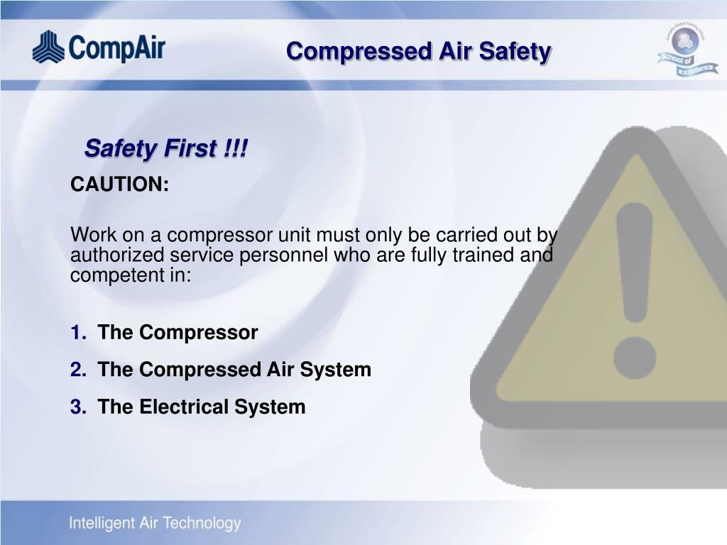 Safety First !!!