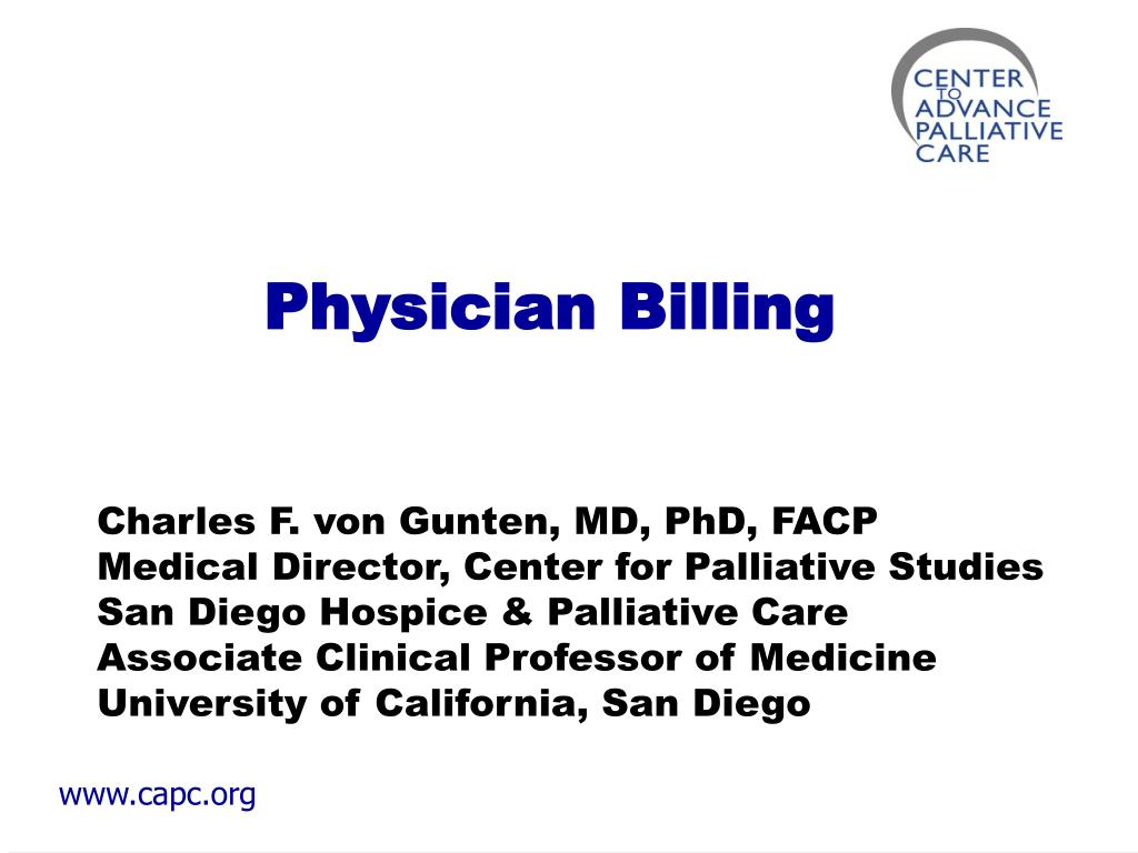 physician billing l.