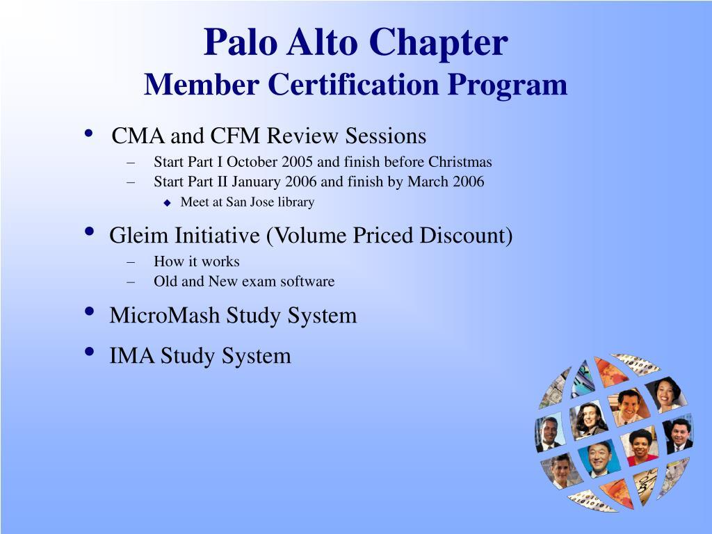 Palo Alto Chapter