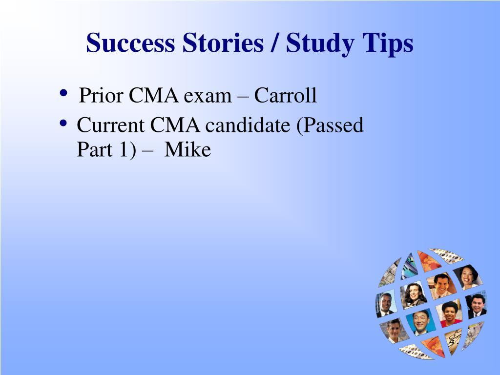 Success Stories / Study Tips
