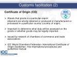 customs facilitation 2