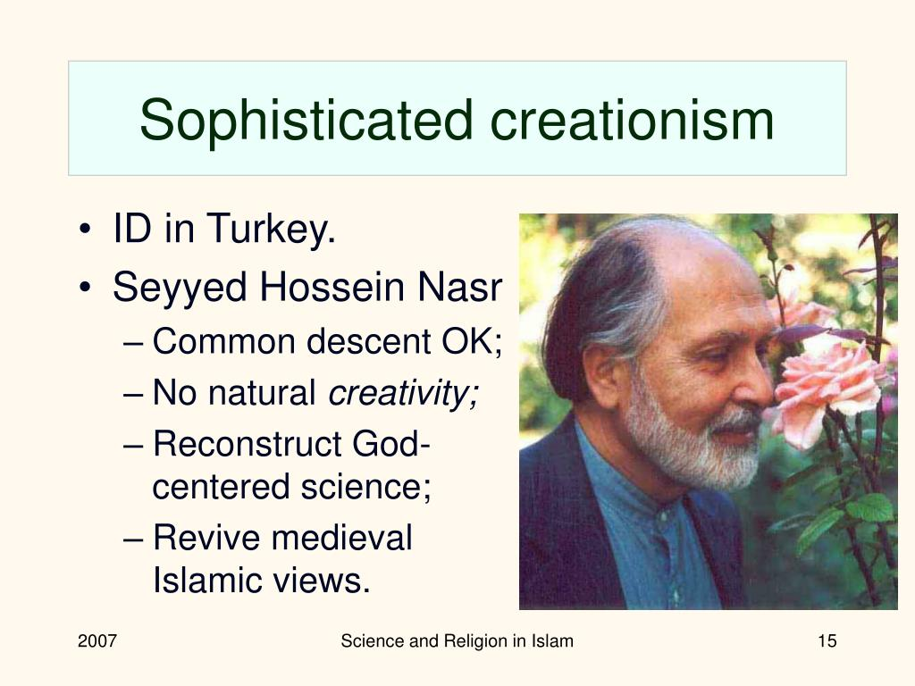 Sophisticated creationism