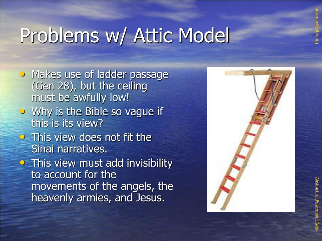 Problems w/ Attic Model
