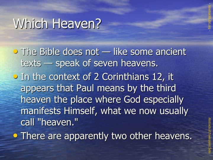 Which heaven3