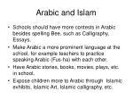 arabic and islam10