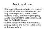 arabic and islam9
