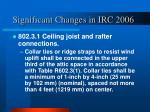 significant changes in irc 200613
