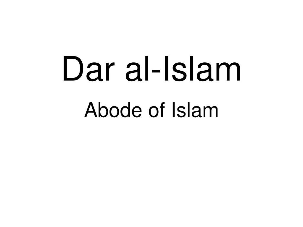 dar al islam l.