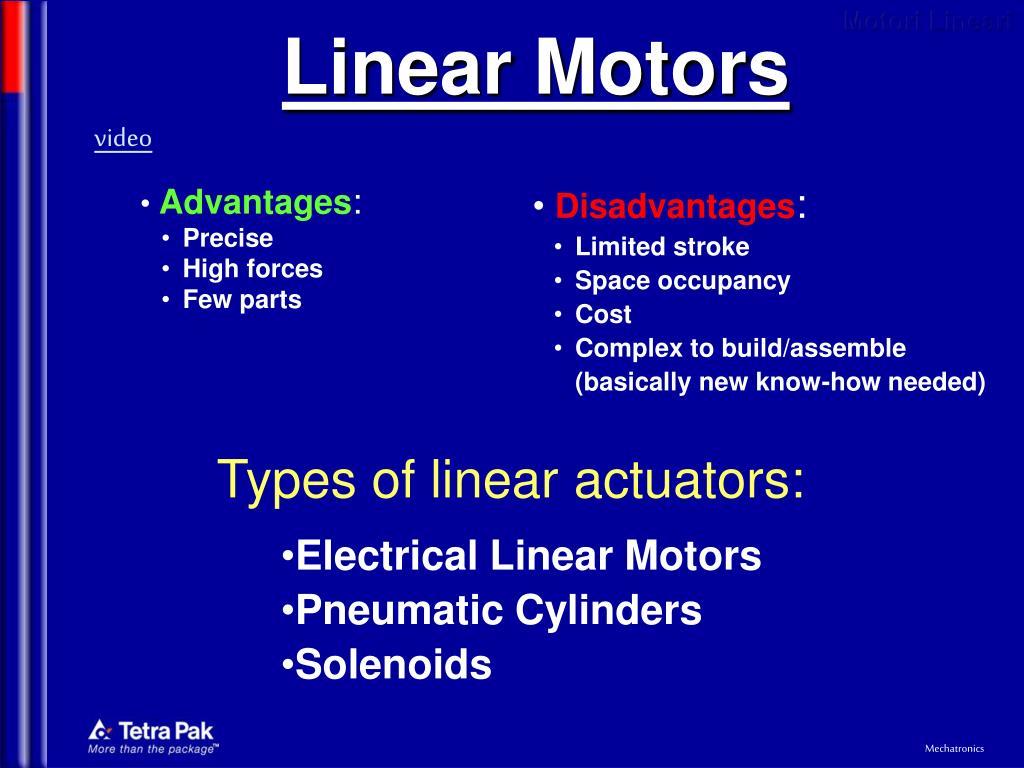 linear motors l.