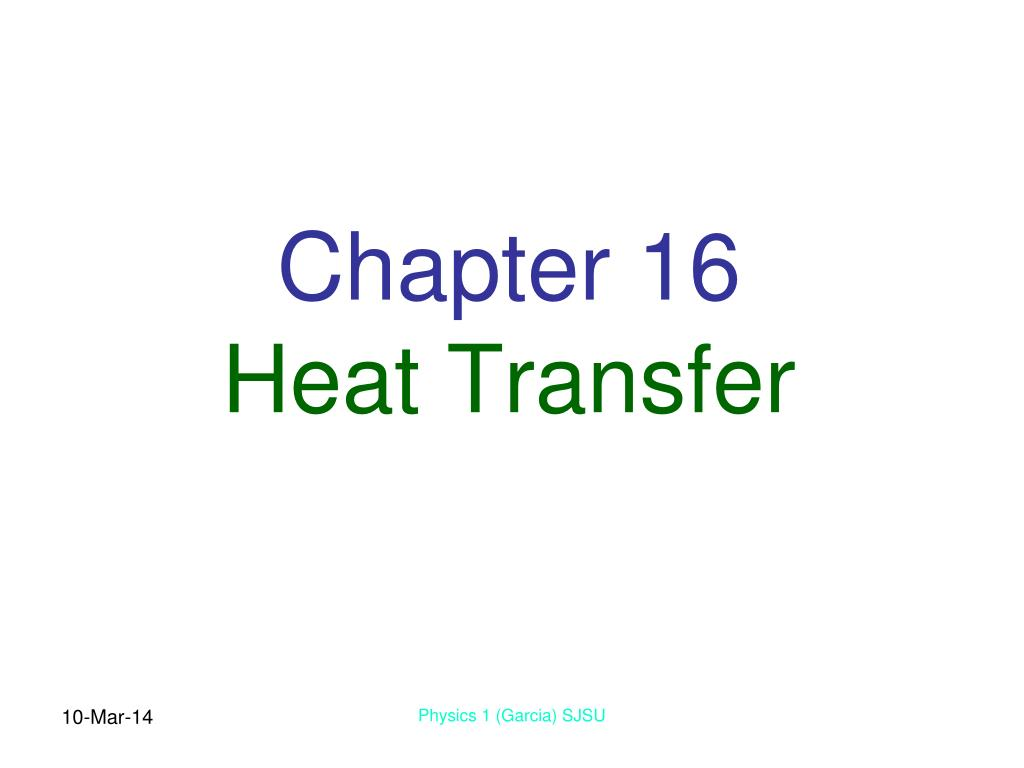 chapter 16 heat transfer l.