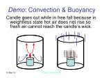 demo convection buoyancy