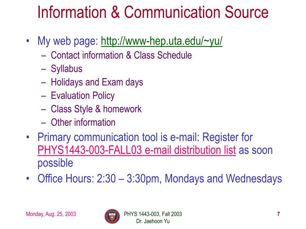 Information & Communication Source