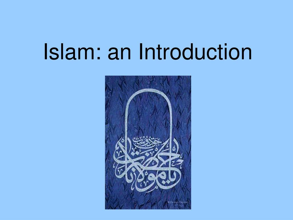 islam an introduction l.