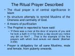 the ritual prayer described