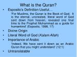 what is the quran21