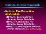 national design standards