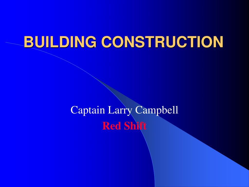 building construction l.