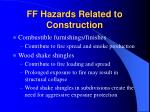 ff hazards related to construction23