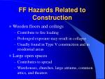 ff hazards related to construction24