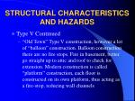 structural characteristics and hazards13
