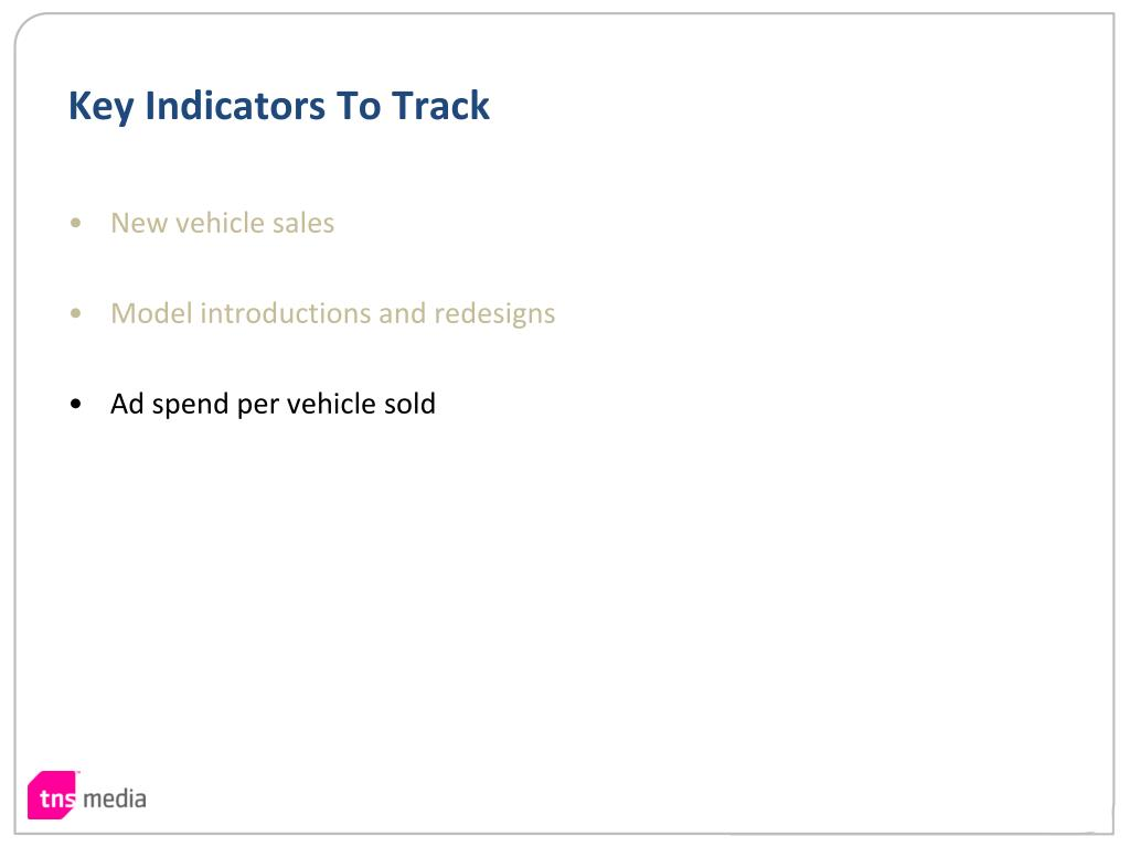 Key Indicators To Track
