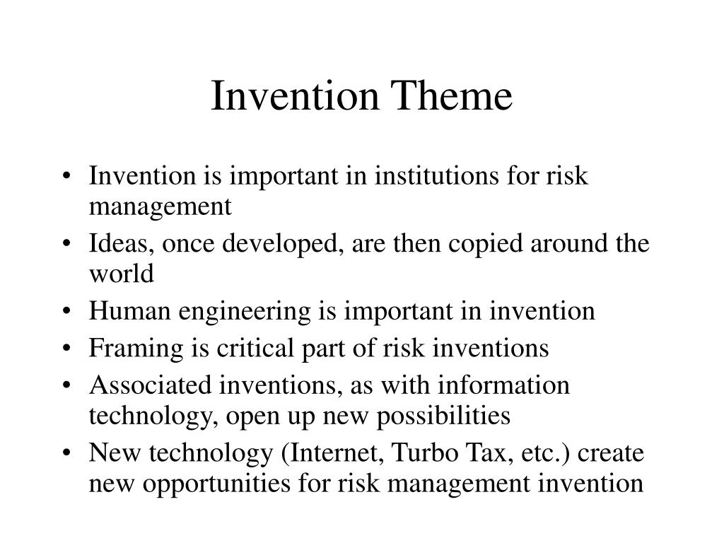 Invention Theme